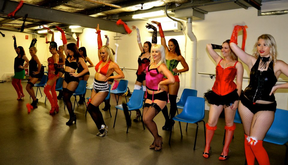 Burlesque Dolls Striptease Workshops Gold Coast