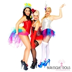 Burlesque Dolls - Feather Fan Hire