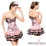Miss Pippa Corset Skirt Set