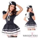 Navy Sailor Girl Fantasy Costume