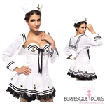 Deluxe Black White Sailor Costume