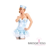 Baby Blue and White Paris Sailor Outfit