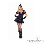 Purple Hocus Pocus Witch