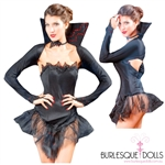 3-Piece Vampire Queen Costume Set
