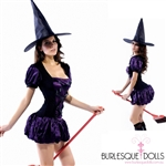 Sexy Sorceress Witch Costume