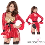 Burlesque Red Matador Bull Fighting Costume
